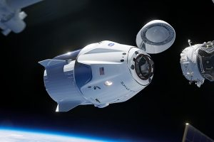 SpaceX Launches First Manned Space Flight