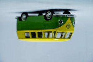 Upside-Down Michigan Van