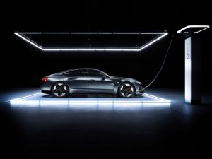 Audi Is Showing Off Their Brand New Combo Of Luxury Electricity