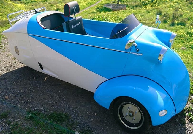 Messerschmitt Comes Back With An Echo of The Kabinenroller